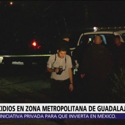 Reportan tres asesinatos en Jalisco