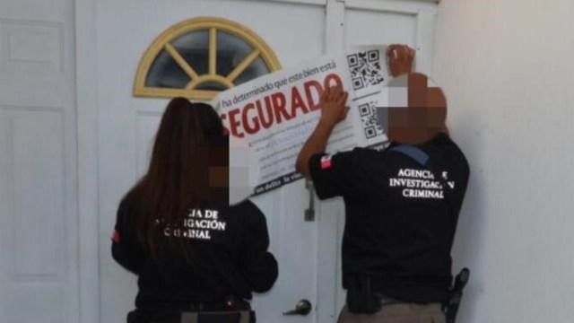 Foto: Se realizaron operativos en los que fueron aprehendidas varias personas y se rescataron a diversas posibles víctimas, 24 de agosto de 2019, (Fiscalía General de la República)