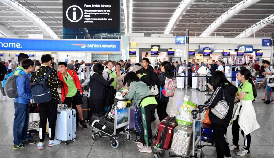 FOTO Falla de British Airways provoca vuelos retrasados en Reino Unido (EFE)