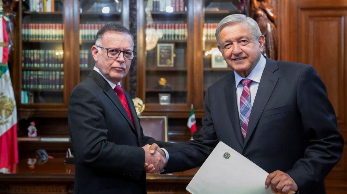 El presidente López Obrador recibe cartas credenciales de nuevos embajadores