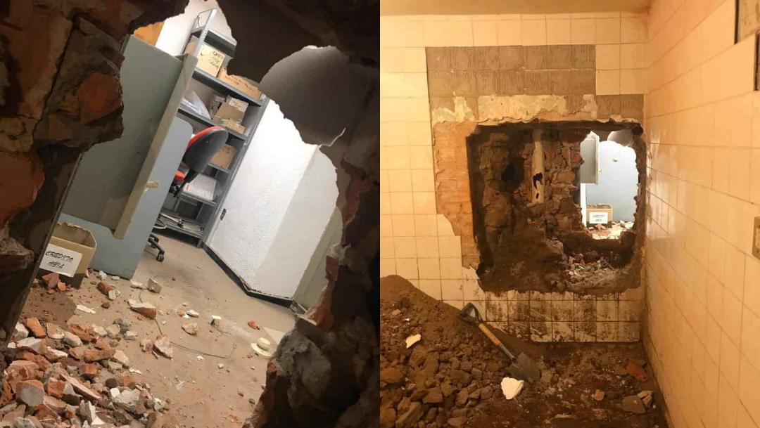 Foto:Roban banco en san luis potosí. 25 agosto 2019