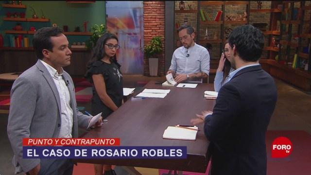 Foto: Rosario Robles Prisión Estafa Maestra 13 Agosto 2019
