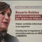 Foto: Rosario Robles Comparece Estafa Maestra 8 Agosto 2019