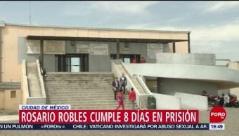 Foto: Rosario Robles Cumple 8 Días Santa Martha Acatitla 20 Agosto 2019