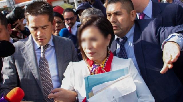 Foto: Rosario Robles, 12 agosto 2019, Ciudad de México