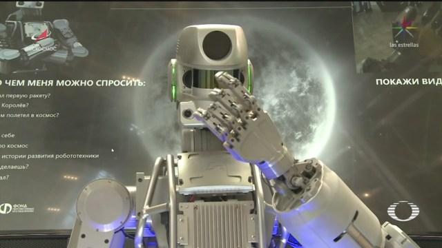 Foto: Rusia Envía Robot Humanoide Estación Espacial Internacional, 22 agosto 2019