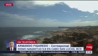 Foto: Sismo Baja California Sur Saldo blanco, 14 agosto 2019