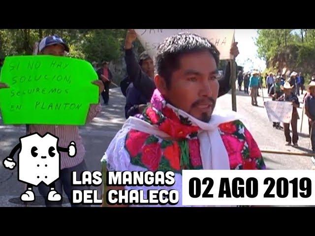 FOTO: Las Mangas del Chaleco del 2 de agosto de 2019