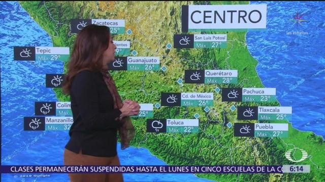 Se esperan lluvias muy fuertes en Sonora y Chihuahua