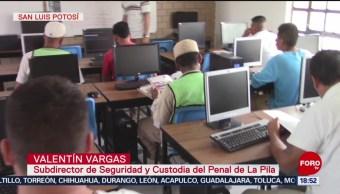 FOTO: Se Gradúan Internos Penales San Luis Potosí