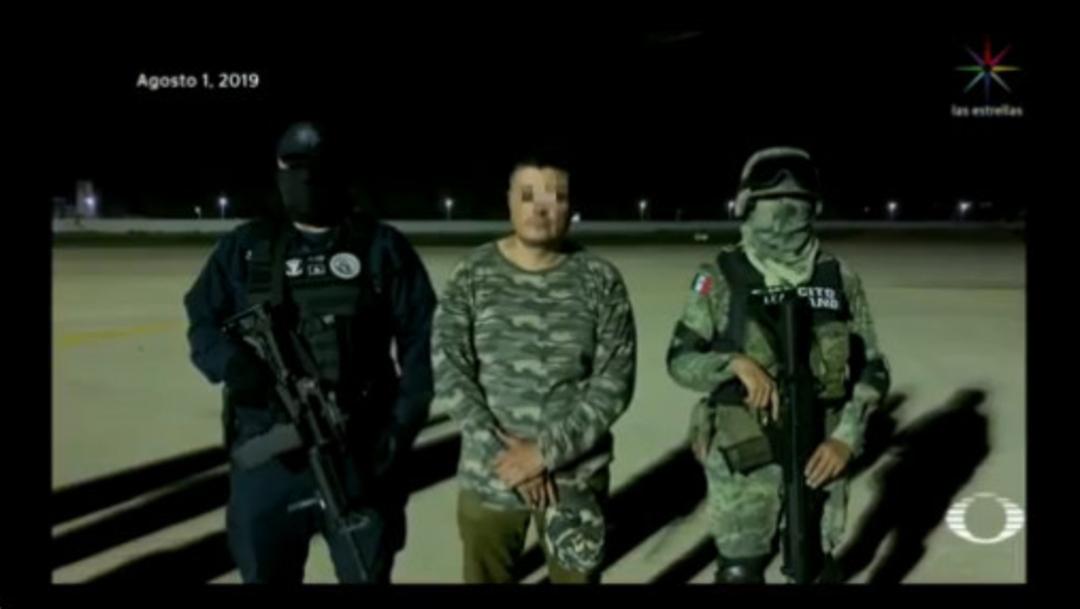 """Imagen: A """"El Carrete"""" se le acusa de ser el líder de la organización delictiva de """"Los rojos"""", que tiene como zona de operación los estados de Morelos y Guerrero, 14 de agosto de 2019 (Noticieros Televisa, archivo)"""