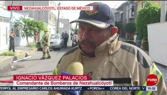 FOTO: Se registra explosión por acumulación de gas en Nezahualcóyotl, 18 Agosto 2019