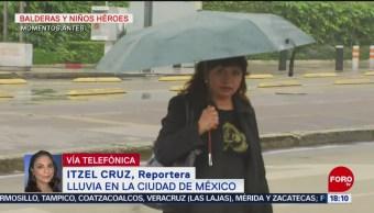 FOTO: Se registra lluvia en diferentes puntos de la CDMX, 24 Agosto 2019