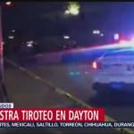 FOTO: Se registra tiroteo en Dayton, hay al menos 9 muertos, 4 Agosto 2019