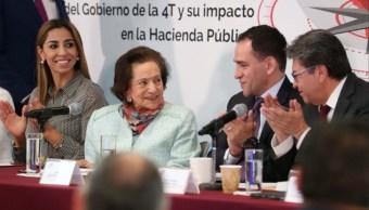 Foto: El Secretario Herrera, dijo a los senadores que en materia tributaria es necesario actualizarse, 20 de agosto de 2019 (Twitter @senadomexicano)
