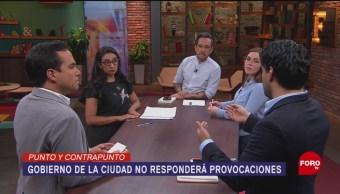 Foto: Sheinbaum Asegura No Caerá Provocaciones Protestas 13 Agosto 2019