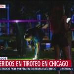 FOTO: Siete heridos en tiroteo en Chicago, Estados Unidos, 4 Agosto 2019