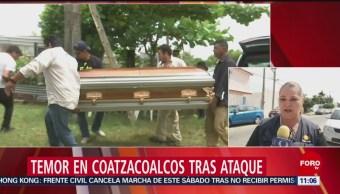 Siguen investigaciones por masacre en bar de Coatzacoalcos, Veracruz