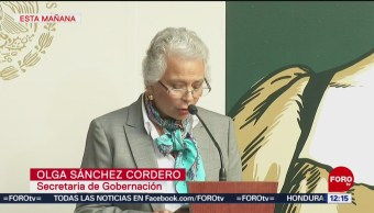 Sociedad organizada, necesaria para erradicar violencia contra mujer, dice Sánchez Cordero