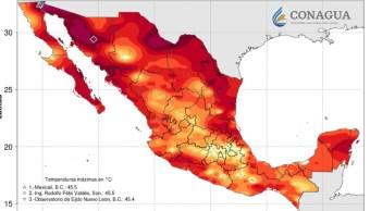 Foto: Es el mes de agosto la época más extremosa de calor en la entidad, el 3 de agosto de 2019 (Twitter @conagua_clima)