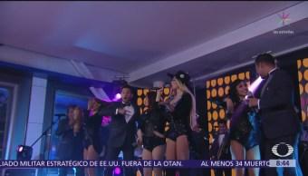 Sonora Santanera presenta nuevo material musical, con María Fernanda