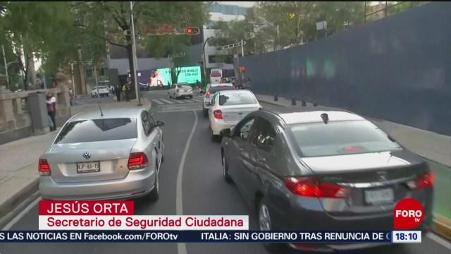 FOTO: SSC-CDMX dará seguimiento rutas usuarios taxis
