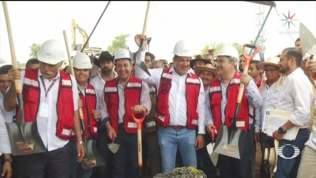 Foto: Subsecretario Gobernación Visita Huacana Tierra Autodefensas 21 Agosto 2019