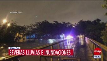 Suspenden clases en Sinaloa por tormenta 'Ivo'