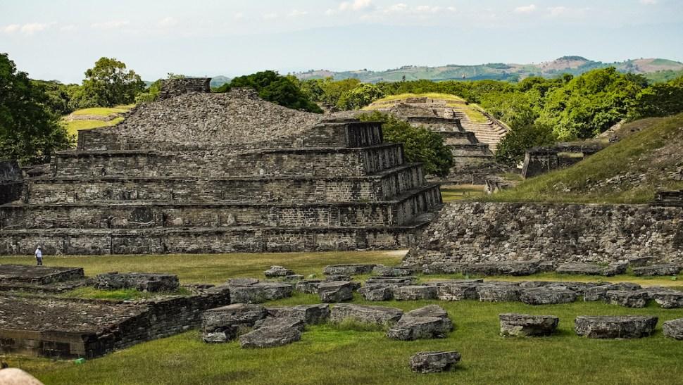 Foto: Zona arqueológica del Tajín. Agosto 2019.