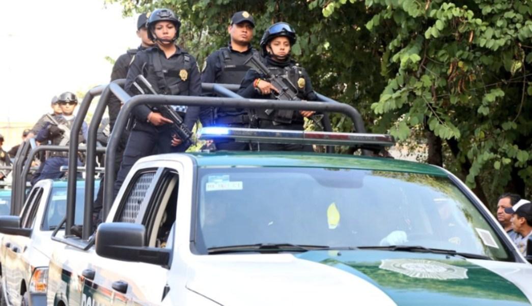 Imagen: Respecto a los 11 casos de policías acusados de agresiones sexuales, Jesús Orta, secretario de Seguridad Ciudadana, comentó que siguen su proceso judicial, 25 de agosto de 2019 (Twitter @SSP_CDMX, archivo)