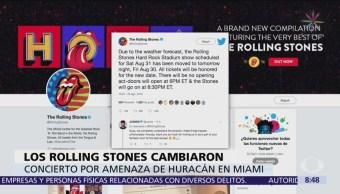 The Rolling Stones adelanta fecha de concierto en Miami