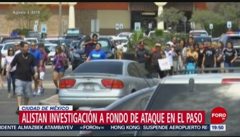 Foto: Tiroteo El Paso Estados Unidos México Acuerdan Intercambiar Información 13 Agosto 2019