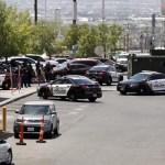 Foto: Las autoridades desplegaron un operativo en el lugar del tiroteo, el 3 de agosto de 2019 (EFE)