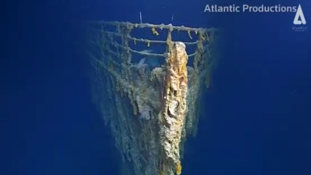 FOTO Titanic es fotografiado, por primera vez en 14 años (Reuters/Atlantic Productions)