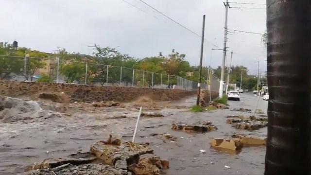 Tormentas dejan severas afectaciones en Zapopan, Jalisco