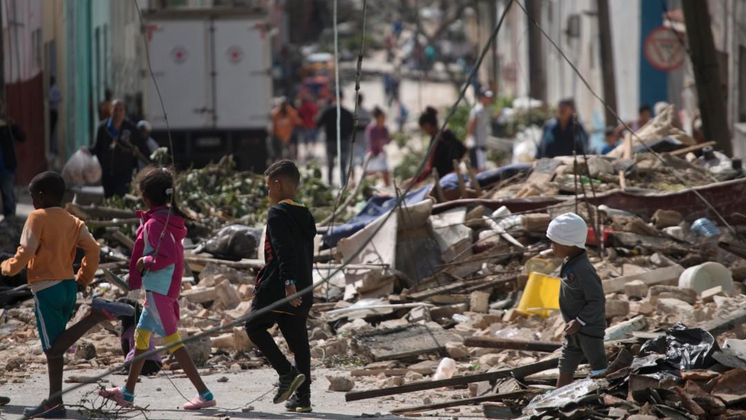 Foto: Tornado en Cuba, 28 de enero de 2019, La Habana