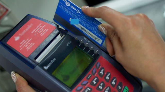 Tarjetas bancarias.