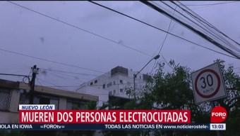 FOTO: Tromba causa 2 muertos en Monterrey, Nuevo León, 25 Agosto 2019