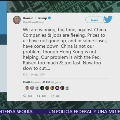 Trump critica nuevamente a la Reserva Federal