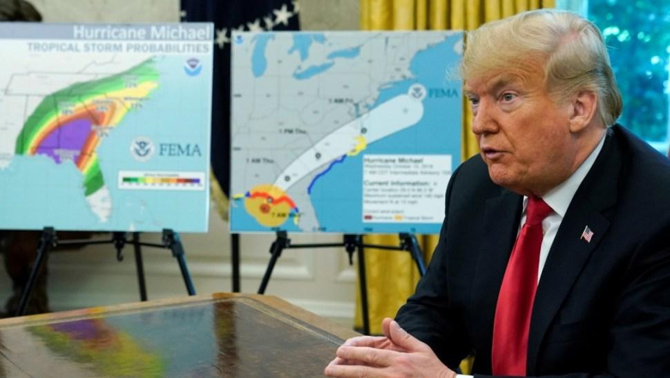 Foto: Donald Trump, 10 de octubre de 2018, Estados Unidos
