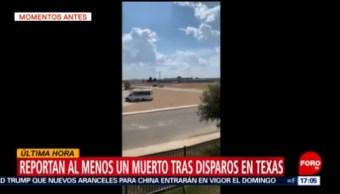 FOTO: Varios heridos en posible tiroteo al oeste de Texas, 31 Agosto 2019