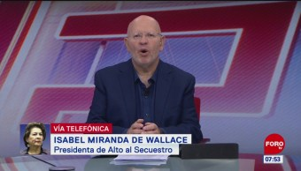 Video: Entrevista completa con Isabel Miranda de Wallace en Estrictamente Personal