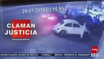 Foto: Video Familia Atropellada Salir Fiesta Aguascalientes 2 Agosto 2019