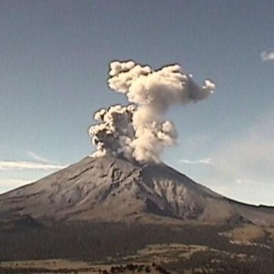 Volcán Popocatépetl suma 135 exhalaciones en las últimas 24 horas