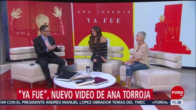 'Ya fue', nuevo video de Ana Torroja