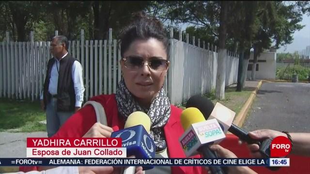 FOTO: Yadhira Carrillo visitó Juan Collado Reclusorio Norte
