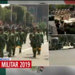 FOTO: 5 mil policías resguardan ruta del desfile militar 2019 en la CDMX, 16 septiembre 2019