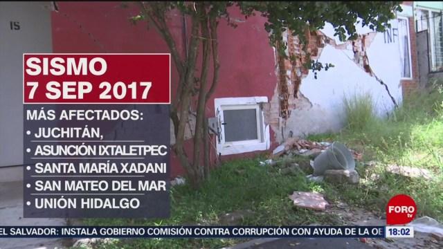 FOTO: A dos años del sismo de magnitud 8.2 en Chiapas, 7 septiembre 2019