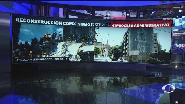 Foto: Dos Años Sismo Existen 403 Edificios Daños Cdmx 19 Septiembre 2019
