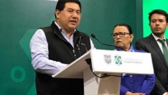 José Carlos Acosta, alcalde de Xochimilco.